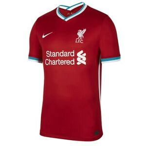 Official NIKE Liverpool Men's Home Shirt 2020 - 2021, Size: S, M