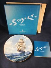 Royal Doulton Plate John Stobart 1977 Running Free 226 of 15000 ~ Excellent Box