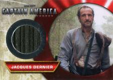 Captain America Movie M-11 Jacques Dernier Memorabilia Costume Card