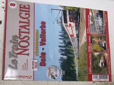 18$$ Revue Le TRAIN Nostalgie n°8 60 ans Dole-Vallorbe electrification BB 9200