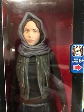 "DISNEY STAR WARS SERGEANT JYN ERSO 10"" ACTION FIGURE NIB FREE SHIPPING"