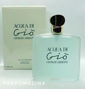 ACQUA DI GIO BY Giorgio Armani 100ml EDT Spray Womens Perfume (100% Genuine )