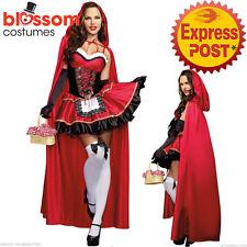 K41 Little Red Riding Hood Oktoberfest Halloween Fancy Dress Fairy Tales Costume