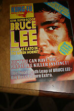 Kung Fu Monthly Poster Magazine no 25 - Excellent condition!! Bruce Lee KFM
