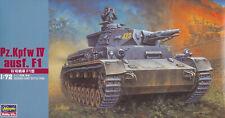 Hasegawa 1/72 (20mm) Pz Kpfw IV Ausf F1