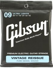 Gibson Vintage Reissue Electric Guitar Strings Ultra Light 09-42