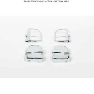Putco 401162 Chrome Mirror Covers, For 2017-2019 Ford F-250.F-350 Super Duty