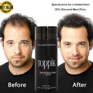 New Authentic Keratin Hair Loss Building Fibers+Applicator Spray organic Hair