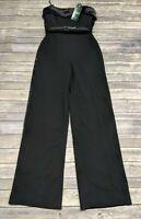 New Lauren Ralph Lauren Womens Jumpsuit Tux Size 2 MSRP $250
