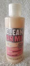 Soap & Glory CLEAN ON ME Creamy Moisture Shower Gel Bottle Mini 2.5 oz/75mL New