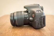 MINT Canon Rebel T3i 18.0 MP SLR With EF-S IS II 18-55mm Lens Kit (2 LENSES)