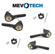 Set of 2 Front Inner & Outer Steering Tie Rod Ends Mevotech for Dodge Plymouth