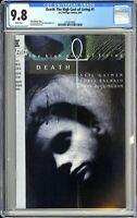 Death: The High Cost of Living #1 CGC 9.8 White Pages 1993 3724874001 DC/Vertigo
