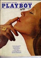 February Playboy Magazines