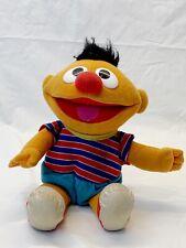 "Tyco Tickle Me ERNIE Vintage Plush Doll Shakes Talks Giggles 12"" Sesame Street"