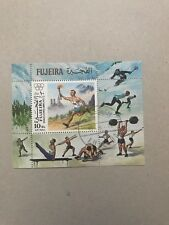 FUJEIRA 1972 - Airmail Olympic Games - Munich Germany Used Ms