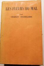 BAUDELAIRE/LES FLEURS DU MAL/ED DE CLUNY/1941/LE DANTEC