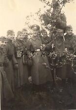 WWII German RP- Army - Soldier- Binoculars Case- Map Case- Canteen- Kit- In Tree