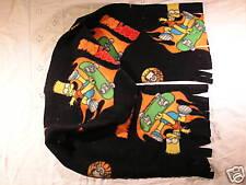 Bart Simpson on Skate Board Fleece Scarf Xtra Wide