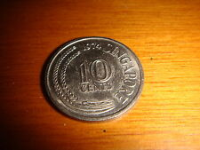 Singapore 1974, 10 Cents, Cupro-Nickel, Almost Uncirculated AUNC