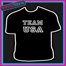 Equipo De Usa Estados Unidos de América Sport Camiseta