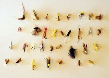 Vintage Lot of 33 Fishing Flys Lures