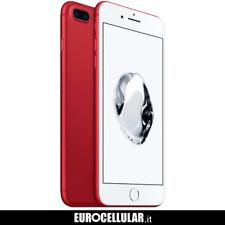 Apple iPhone 7 Plus 256GB - Rosso - (NUOVO)