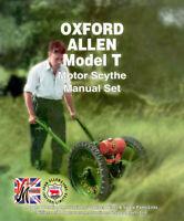 OXFORD ALLEN Scythe Model T Instruction & Spare Parts List & Villiers 25C - Set