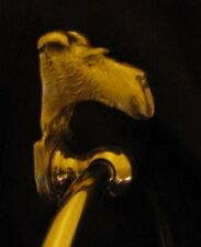 FOX TERRIER, WIRE,Bronze Towel Ring!
