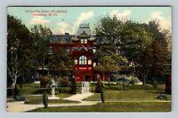 Wheeling WV, Old Ladies Home, Woodsdale, Vintage West Virginia c1912 Postcard