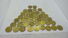 Lot of 41 1998 Pinnacle Football Coins