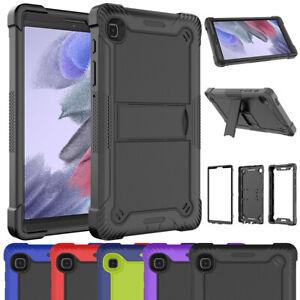 For Samsung Galaxy Tab A7 Lite Case Shockproof  Heavy Duty Silicone Hybrid Cover