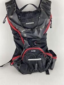 Shimano  U10 Hydration Day Pack 10 Liter 10L RED- black hydra pak