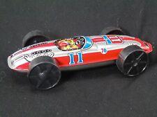 Vintage Tin Litho Race Car #11