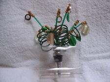 Beaded Sparkling Spiral Bottle Stopper by Two's Company - Comets Wine Champagne