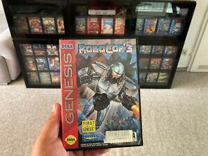 "Orig. Sega Genesis (Mega Drive) RoboCop 3 ""aus Sammlung"""
