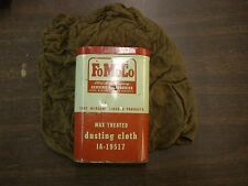 OEM Ford Wax Treated Dusting Cloth Can 1950's - 1960's Fairlane Galaxie Mustang