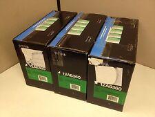 LOT of 3 Opened Box Genuine Lexmark 12A6360 High Yield Toner Cartridge T620 T622