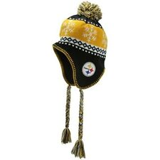 NFL '47 Brand Pittsburgh Steelers One Size Black/ Gold Abomination Knit Beanie