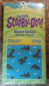"CARTOON NETWORK Scooby Doo VINYL Bathroom Shower Curtain 70"" x 72"" NEW"