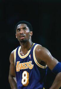 Kobe Bryant 1999 LA Lakers NBA Original Photo Color Negative 35MM Crystal Clear!