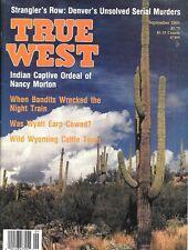 True West Sept.1991 Denver Serial Murders Wyatt Earp Rock Creek Wyoming Texas