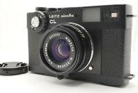 [MINT Meter Works] Leitz Minolta CL Body M-Rokkor 40mm f/2 MF Lens From Japan