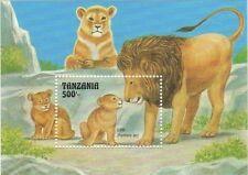 Tanzania-1992 Fauna and Flora, Marine Life Stamp-s/s SC#1002