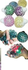 SQUISH A BALL-Squeeze Fun Tension Stress Release Ball Buster Novely Gift NEW