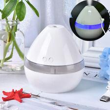 1pc 5v ultrasonic mini led aroma humidifier purifier mist maker air diffuser *H