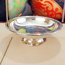 J Dixon Antique Silver Plated Bowls