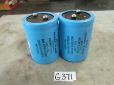 Aerovox Capacitor Type CGS 4300MFD 200 VDC Max Surge 250 VDC Lot of 2 (New)