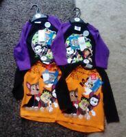4 x Boys Paw Patrol Kids Long Sleeve Cotton Halloween Tops BNWT  Various Sizes