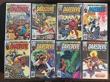 Daredevil - 8 Book Lot #'s 136,137,146,160-164 - Fine to VF